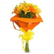 All Orange Flowers